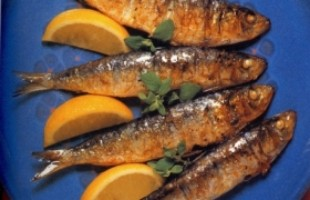 Grilled Sardines with Lemon and Oregano